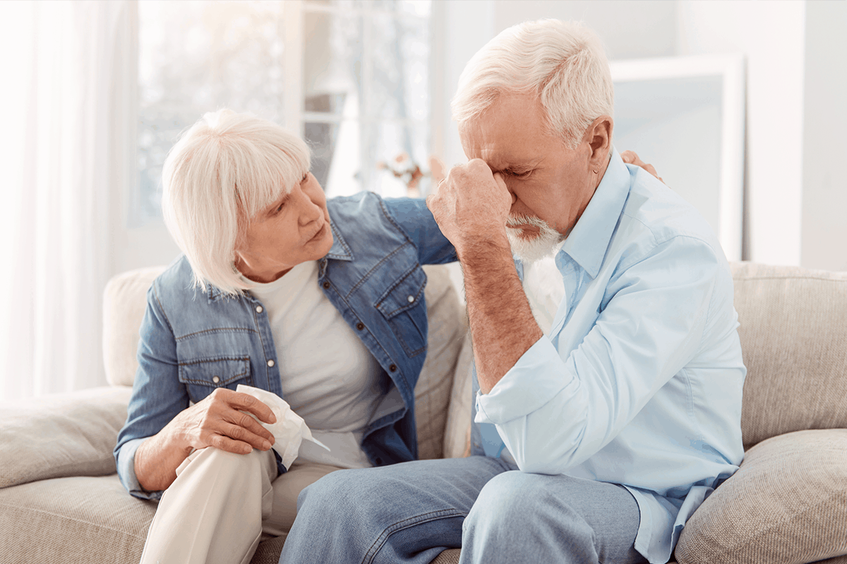 Wife recognizes the signs of stroke in her husband